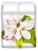 Apple Blossom Duvet Cover by Elena Elisseeva