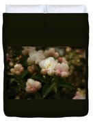 Apple Blossom Time Duvet Cover by Mary Machare