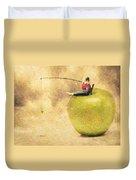 Apple Dream Duvet Cover by Taylan Soyturk