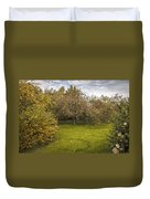 Apple Orchard Duvet Cover by Amanda And Christopher Elwell