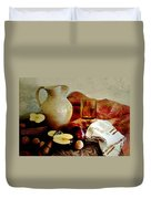 Apples Today Duvet Cover by Diana Angstadt