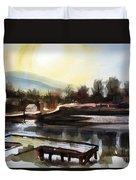 Approaching Dusk II Duvet Cover by Kip DeVore