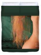 Aquarius... Duvet Cover by Nina Stavlund