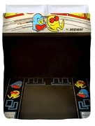 Arcade Madness Duvet Cover by Frozen in Time Fine Art Photography