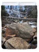 Arethusa Falls Duvet Cover by Catherine Reusch  Daley