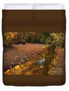 Arizona Autumn Reflections Duvet Cover by Mike  Dawson