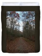 Around The Bend Duvet Cover by Neal  Eslinger