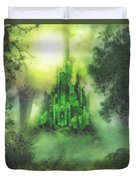 Arrival To Oz Duvet Cover by Mo T