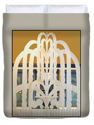 Art Deco Window Duvet Cover by Diane Wood
