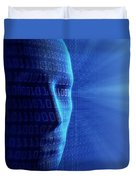 Artificial Intelligence Duvet Cover by Johan Swanepoel
