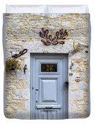 Artistic Door Duvet Cover by Georgia Fowler