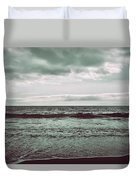 As My Heart Is Being Crushed Duvet Cover by Laurie Search