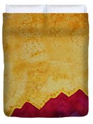 Ascension Original Painting Duvet Cover by Sol Luckman