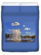 Aspetuck Reservoir Duvet Cover by Joann Vitali