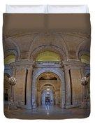 Astor Hall Duvet Cover by Susan Candelario