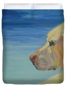 At Peace Duvet Cover by Kimberly Santini