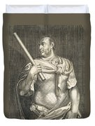Aullus Vitellius Emperor Of Rome Duvet Cover by Titian