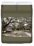 Austin Texas Southern Garden - Luther Fine Art Duvet Cover by Luther  Fine  Art