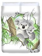 Australia Duvet Cover by Veronica Minozzi