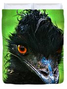Australian Emu Duvet Cover by Blair Stuart