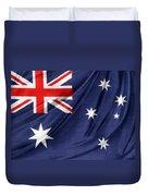 Australian Flag Duvet Cover by Les Cunliffe