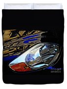 Auto Headlight 113 Duvet Cover by Sarah Loft