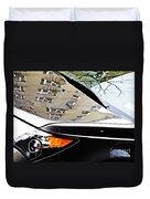 Auto Headlight 98 Duvet Cover by Sarah Loft