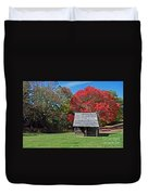 Autum For A Mountain Home Duvet Cover by Skip Willits