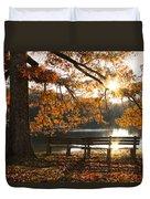 Autumn Beauty Duvet Cover by Debra and Dave Vanderlaan
