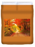 Autumn Cameo 2 Duvet Cover by Terri Gostola