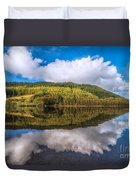 Autumn Clouds Duvet Cover by Adrian Evans
