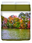 Autumn Color In Norfolk Botanical Garden 3 Duvet Cover by Lanjee Chee