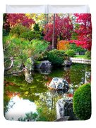 Autumn Dream Duvet Cover by Carol Groenen