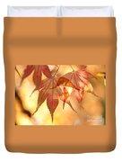 Autumn Glow Duvet Cover by Anne Gilbert