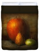 Autumn - Gourd - Melon Family  Duvet Cover by Mike Savad