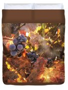 Autumn In The Vineyard Duvet Cover by Michele Steffey