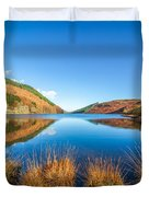 Autumn Lake Duvet Cover by Adrian Evans