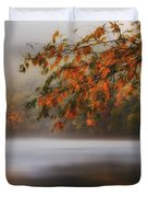 Autumn Lake Duvet Cover by Bill  Wakeley
