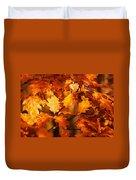 Autumn Leaves Oil Duvet Cover by Steve Harrington