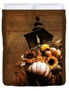 Autumn Light Post Duvet Cover by Dan Sproul
