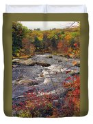 Autumn River Duvet Cover by Joann Vitali