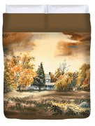Autumn Sky No W103 Duvet Cover by Kip DeVore