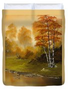 Autumn Splendor Duvet Cover by C Steele