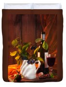 Autumn Still Life Duvet Cover by Amanda And Christopher Elwell