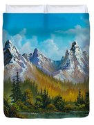 Autumn's Magnificence Duvet Cover by C Steele