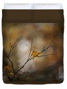 Autumns Solitude Duvet Cover by Mike Reid