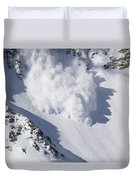 Avalanche IIi Duvet Cover by Bill Gallagher