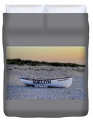 Avalon Lifeboat Duvet Cover by Bill Cannon