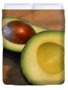 Avocado Duvet Cover by Michelle Calkins