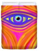 Awakening the Desert Eye Duvet Cover by Daina White